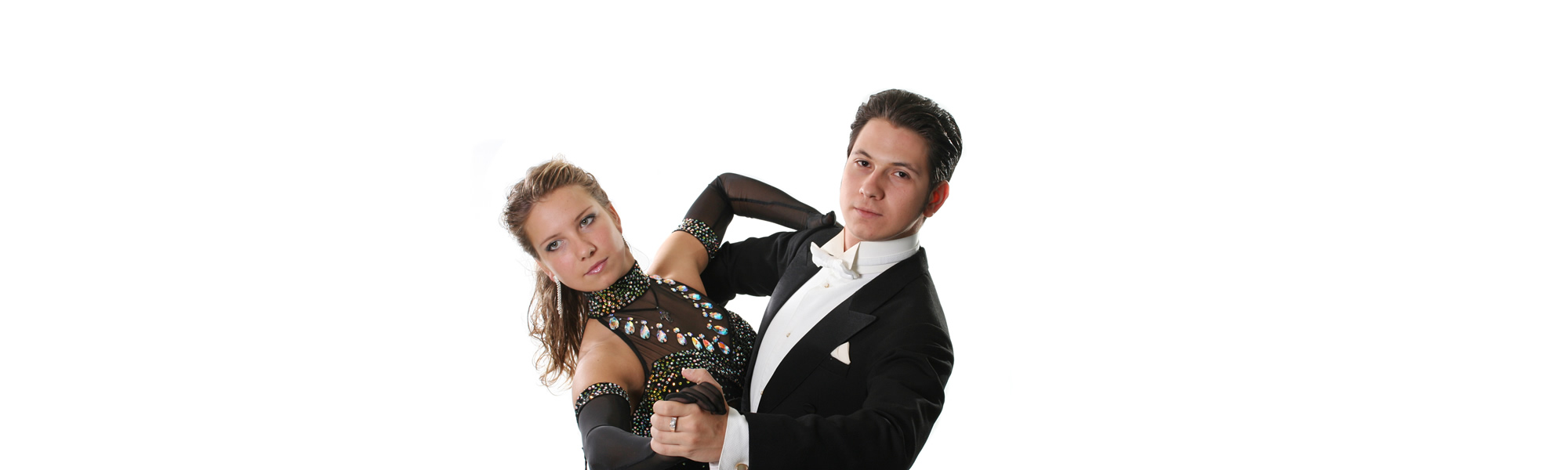 Ballroom Hold – Couple in Black